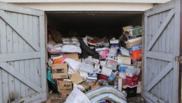 Ontruiming garagebox Ter Wengel Bedrijfsdiensten Hengelo